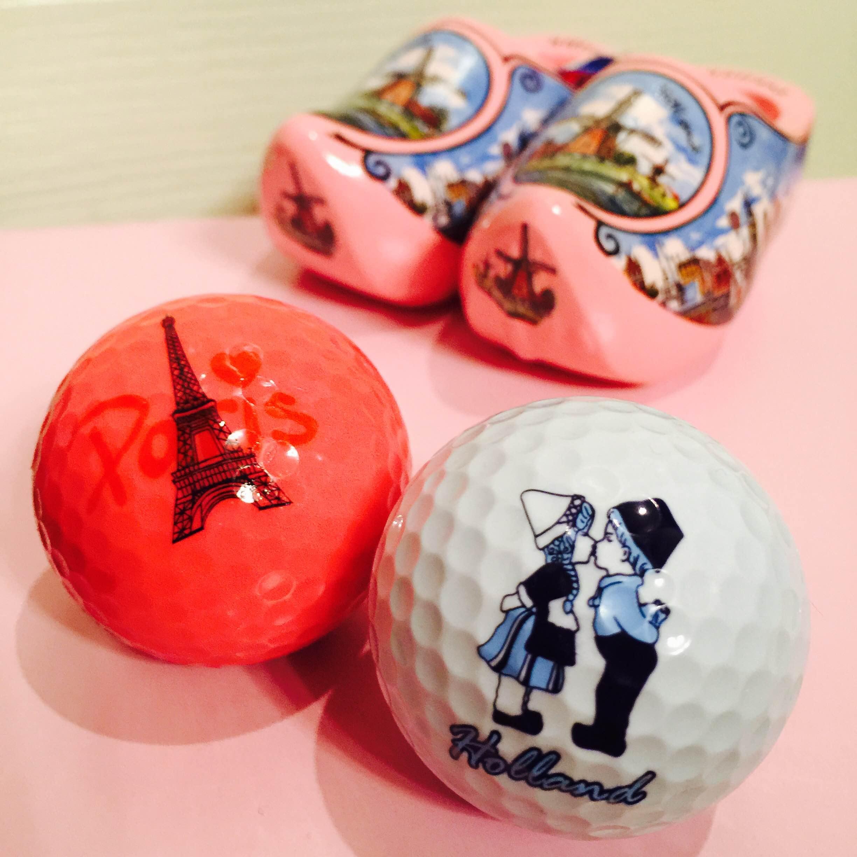 海外旅行のお土産にも喜ばれるゴルフボール♪