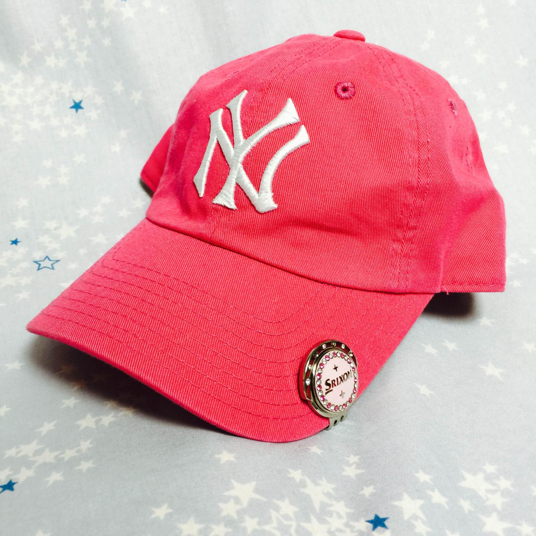 街中でも見かけるニューヨークヤンキース帽