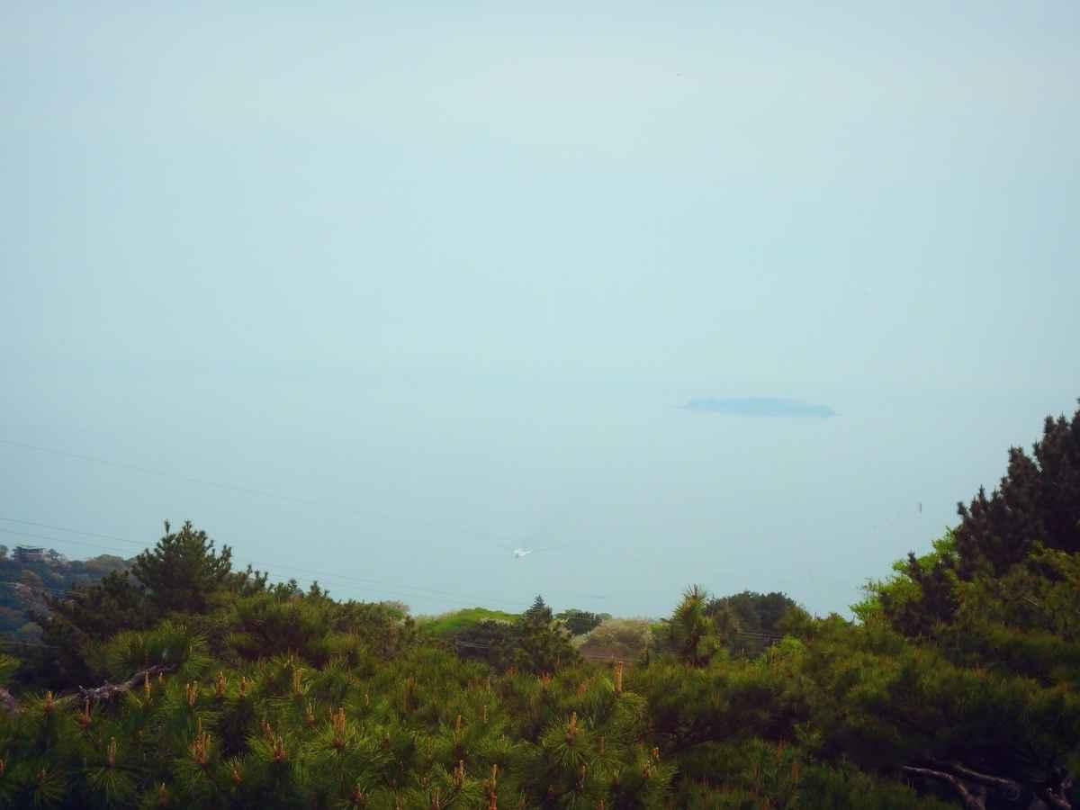 初島を見ながらラウンド〜