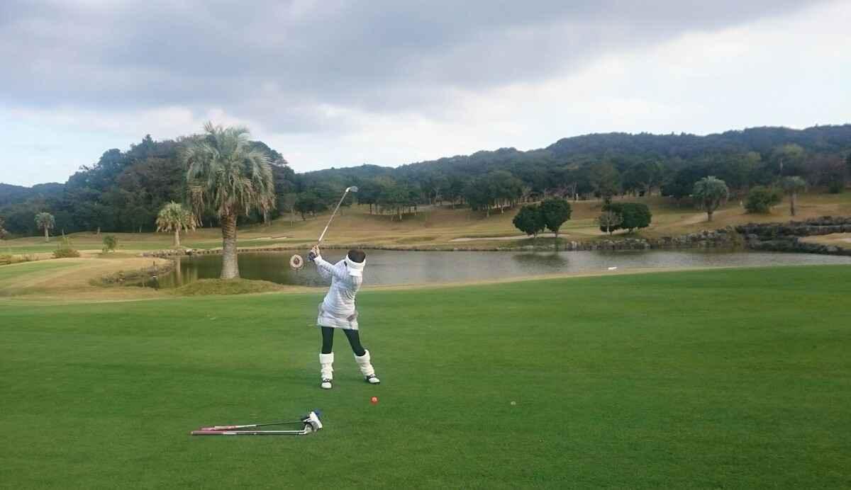 デイスターゴルフクラブでプレー