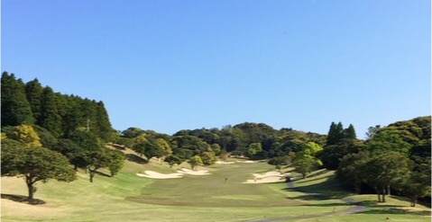 南国リゾート感タップリ、大原・御宿ゴルフコース。VANQUISHのゴルフ場体験記No.9です。