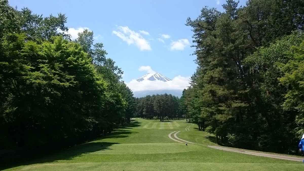コースから見れる富士山を眺められる余裕があれば…