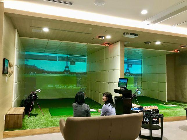 場所はオシャレであったか♡ 恵比寿のシミュレーションゴルフスタジオ