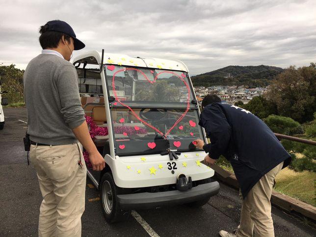 ゴルフ場の協力はとっても大切。